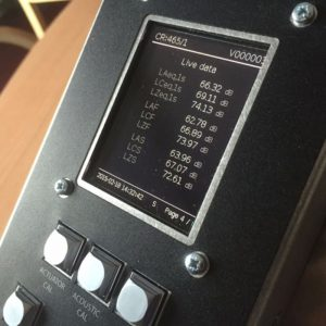 CR:465 Galactus Integration Noise Monitor