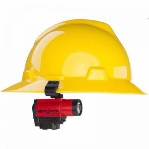 FORTEM™ - Intrinsically Safe Helmet-Mounted Dual-Light™ Flashlight - Red