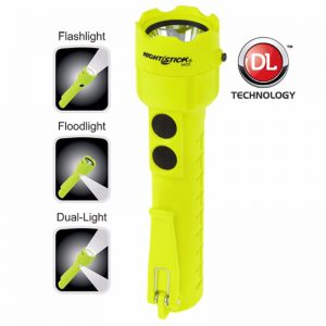 Intrinsically Safe Permissible Dual-Light™ Flashlight
