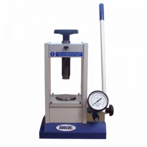 Manual Hydraulic Press | FTIR + XRF pellet press