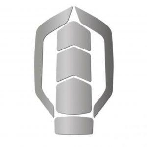 Reflective Silver Zenith Sitcker Set