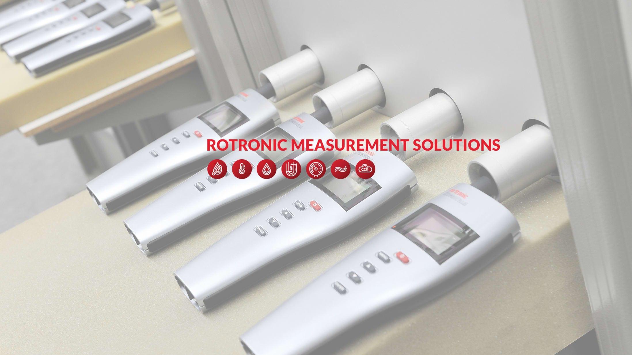 ROTRONIC AG Banner
