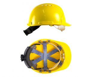 Safety Helmet With Integral Visor