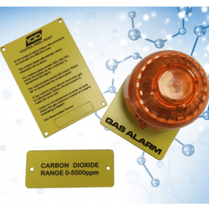 Signage For Gas Detection Systems