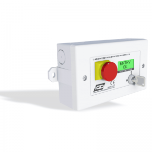 TOC 30 Annunciator Addressable Door Entry Status Control