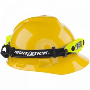 DICATA™ Intrinsically Safe Low-Profile Dual-Light™ Headlamp by Nightstick