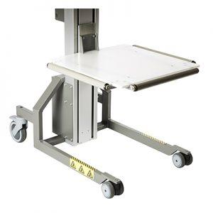Platform PEHD w rollers
