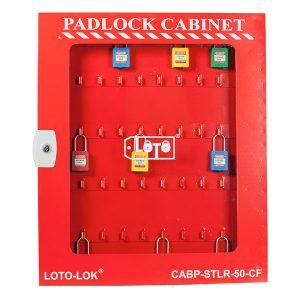 Padlock Cabinet Clear Fascia CABP STLR 50 CF