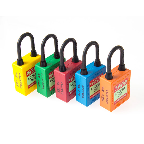 Padlocks Non Conductive Shackle